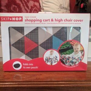 Skip*Hop Shopping Cart / High Chair Cover